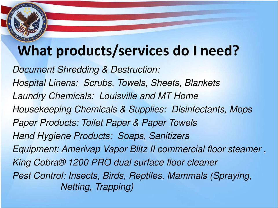 Home Housekeeping Chemicals & Supplies: Disinfectants, Mops Paper Products: Toilet Paper & Paper Towels Hand Hygiene