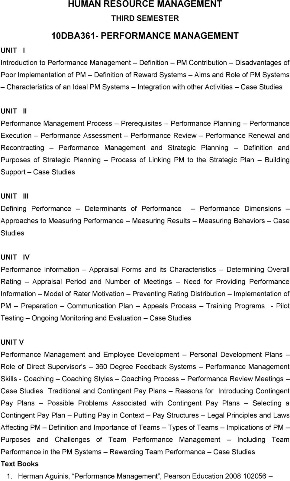 human resource management 10dba361- performance management - pdf