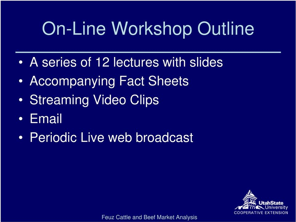 Accompanying Fact Sheets Streaming
