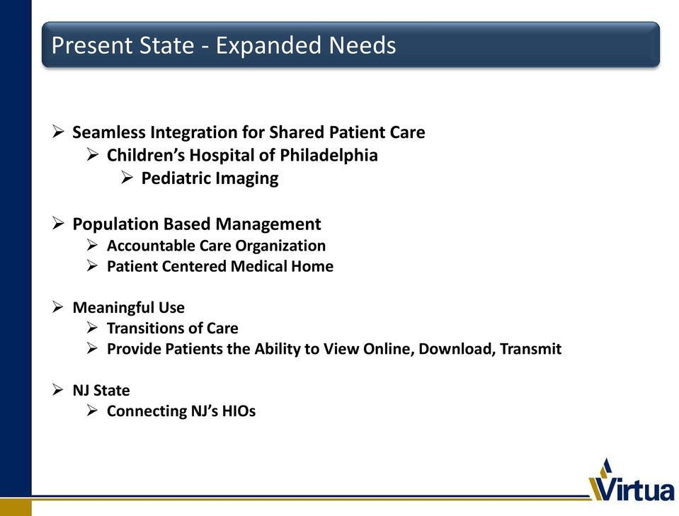 Patient Centered Permitted Medical and Home Non-Permitted Uses of Data Meaningful Use