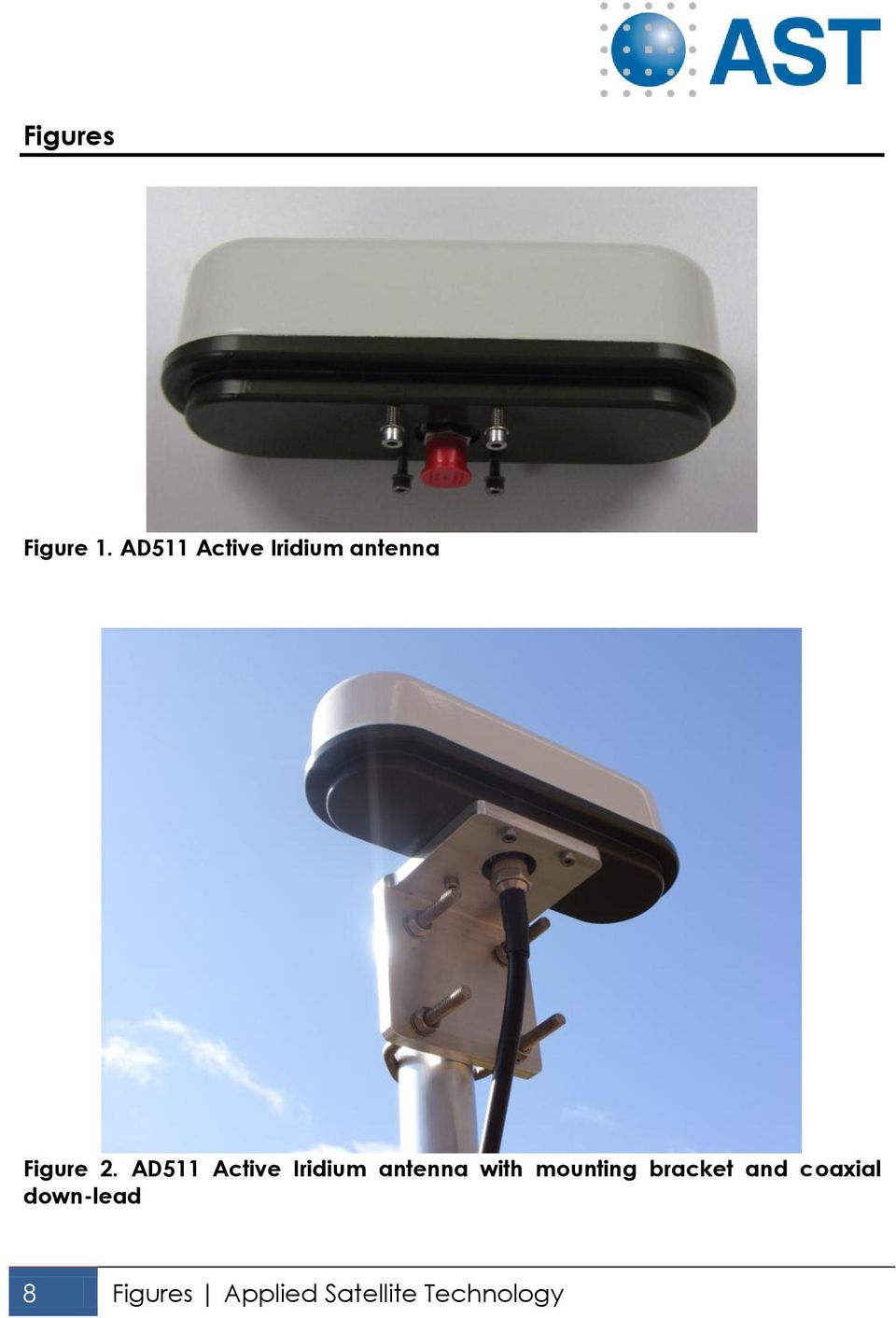 AD511 Active Iridium antenna with
