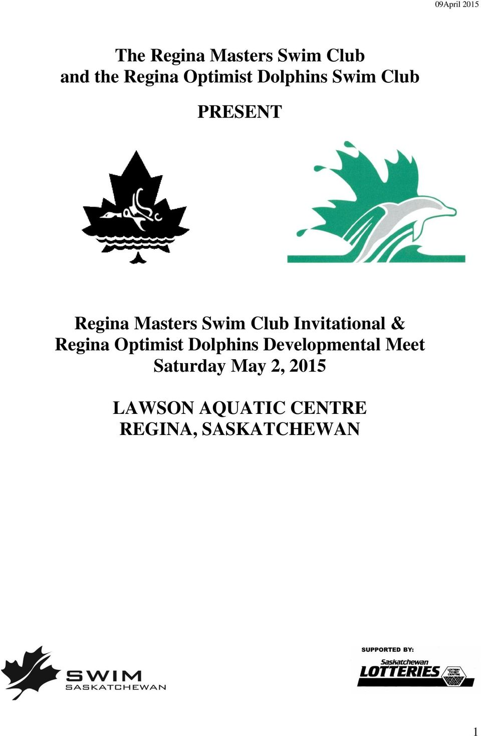 Invitational & Regina Optimist Dolphins Developmental