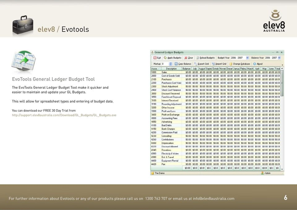 This will allow for spreadsheet types and entering of budget data. http://support.elev8australia.
