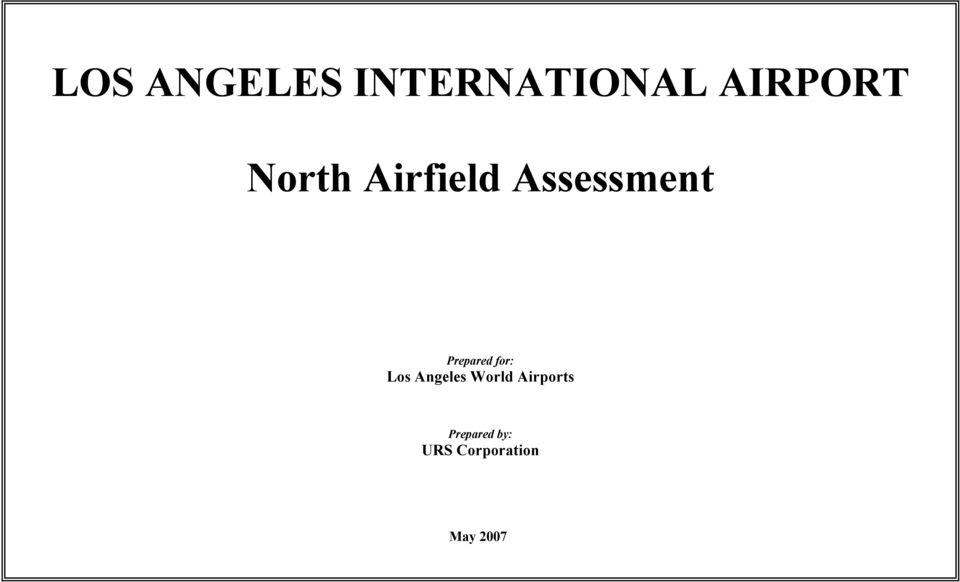 for: Los Angeles World Airports