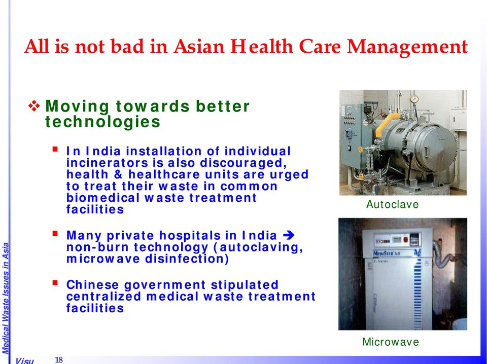 biomedical waste treatment facilities Autoclave Many private hospitals in India non-burn technology