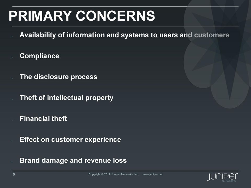 intellectual property Financial theft Effect on customer experience