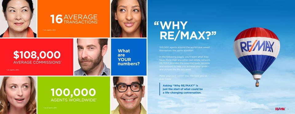 In the following pages, you ll learn what they have: More than any other real estate network, RE/MAX provides the essential tools,