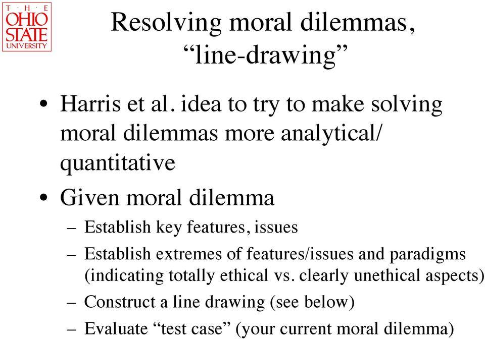 Line Drawing Ethics : Lecture ethical dilemmas choices and codes of ethics