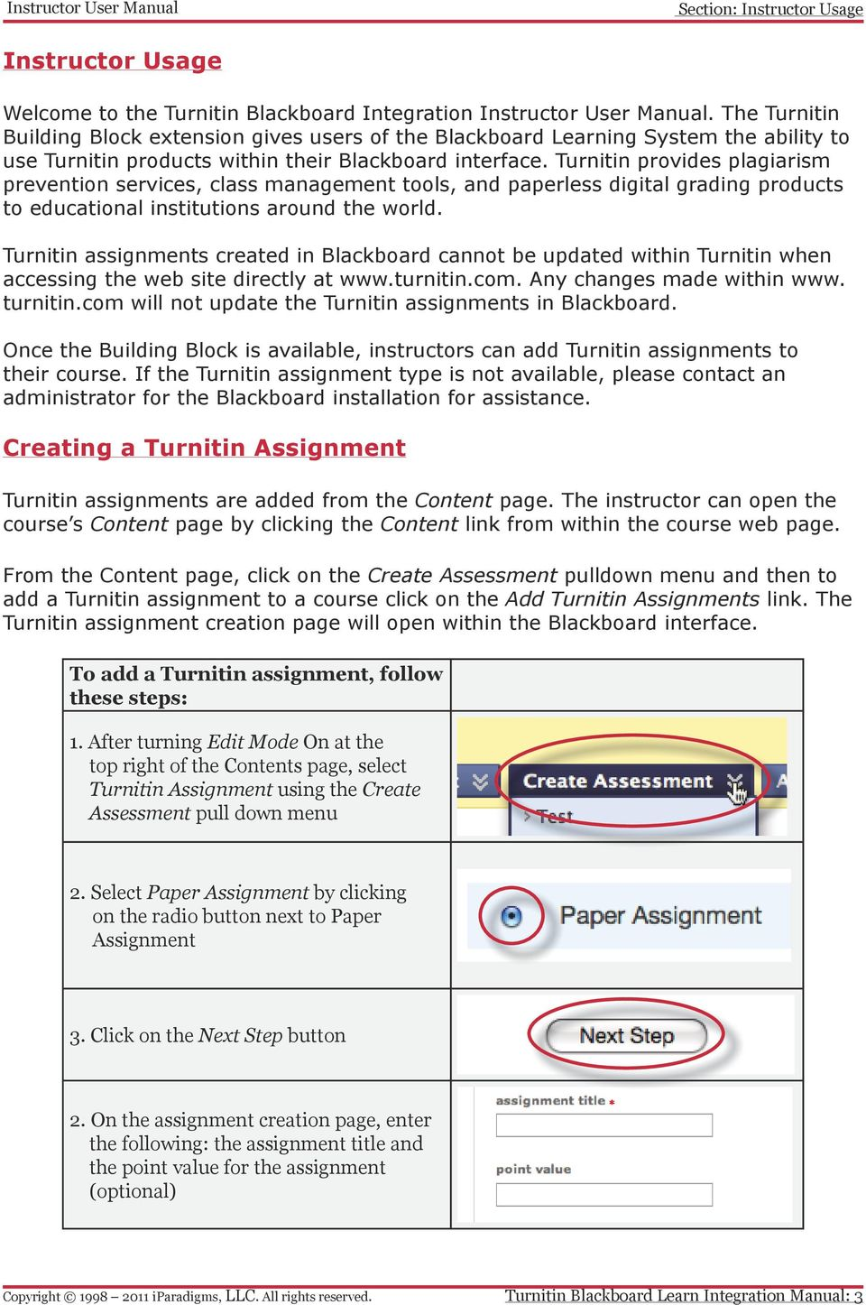 Turnitin provides plagiarism prevention services, class management tools, and paperless digital grading products to educational institutions around the world.