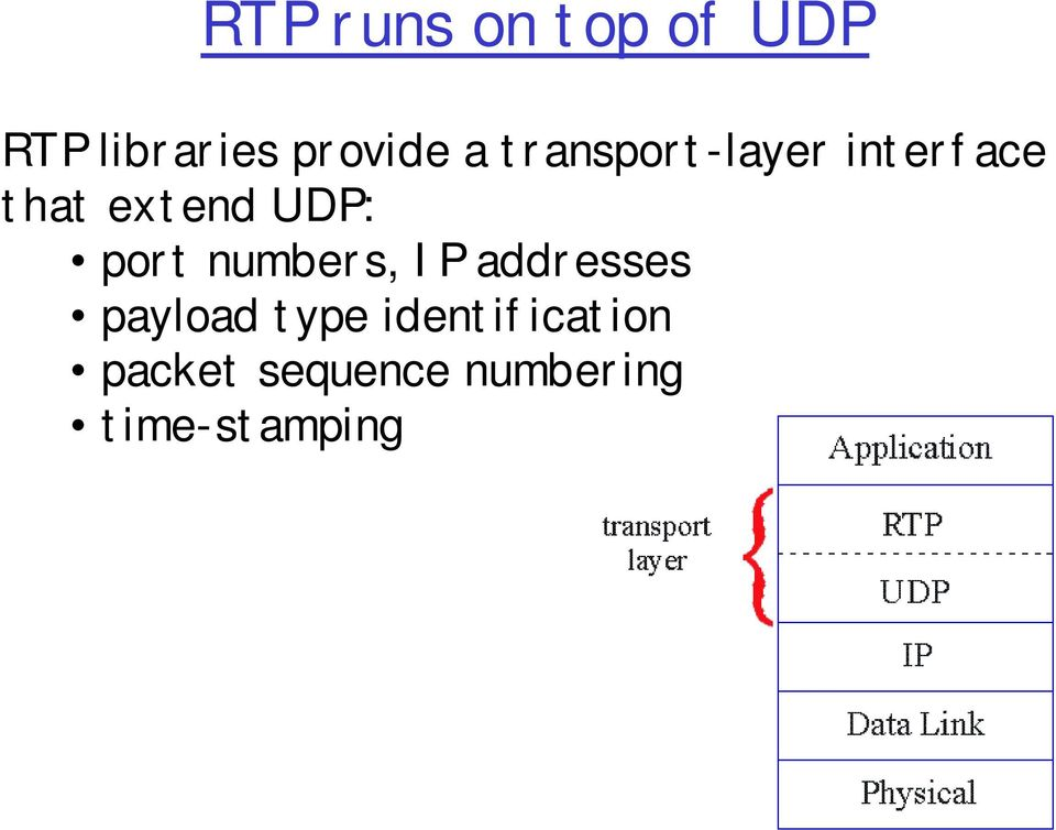port numbers, IP addresses payload type