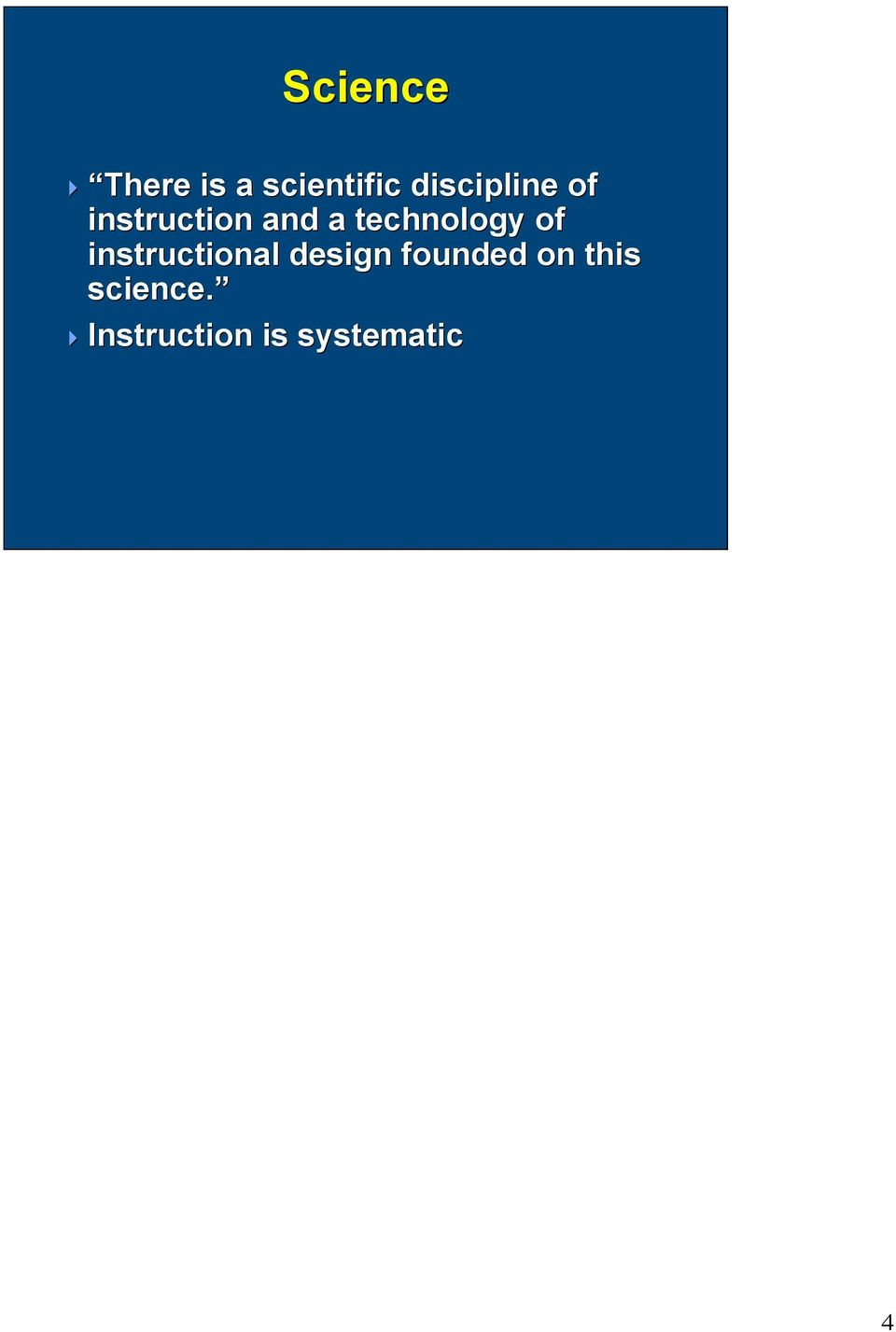 technology of instructional design