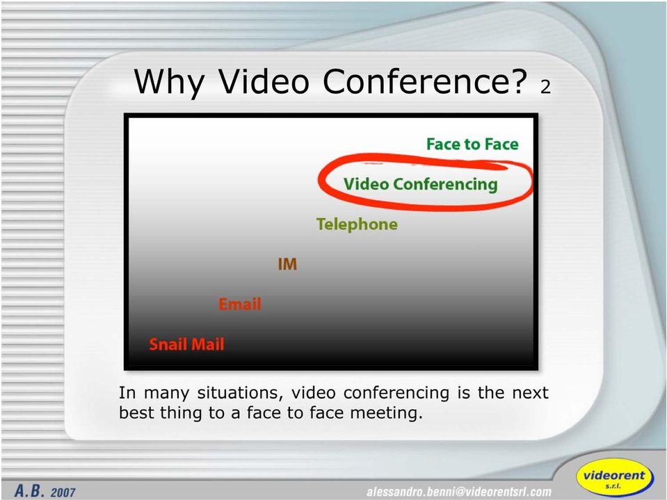 conferencing is the next