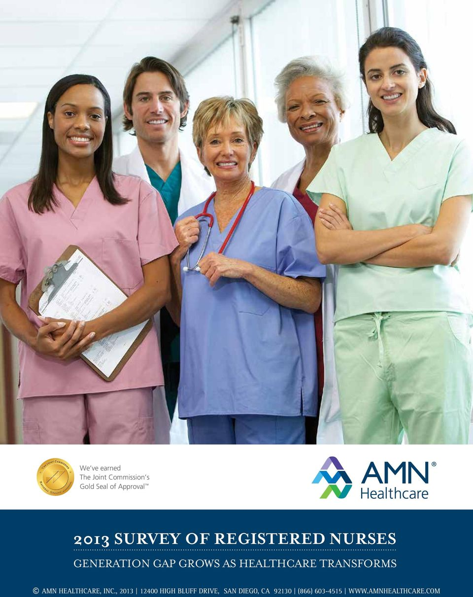 Healthcare Transforms AMN Healthcare, Inc.