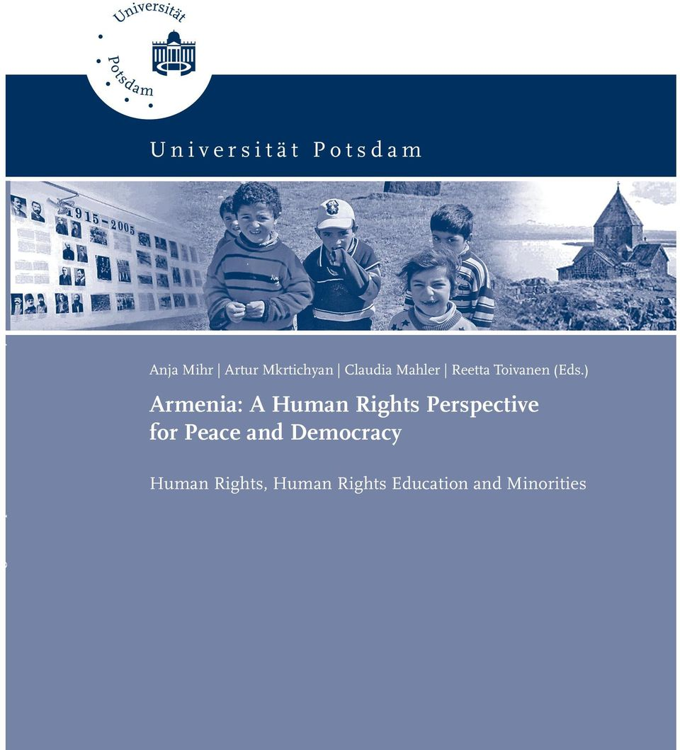) Armenia: A Human Rights Perspective for Peace and
