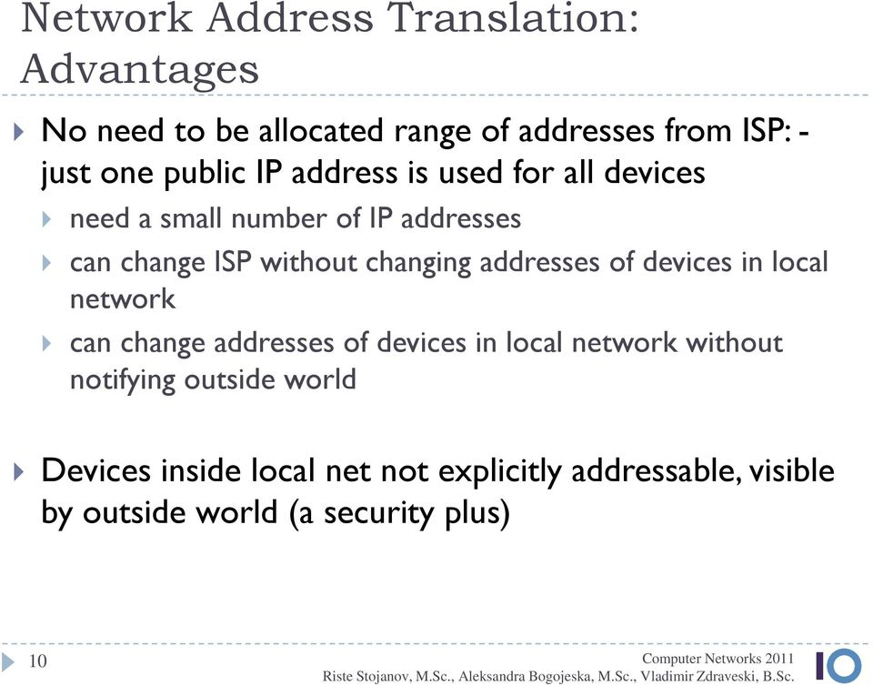changing addresses of devices in local network can change addresses of devices in local network without