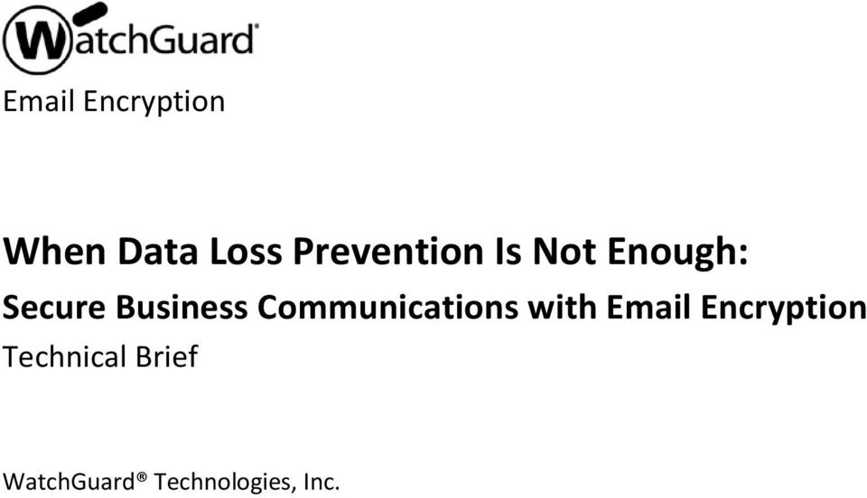 Business Communications with Email