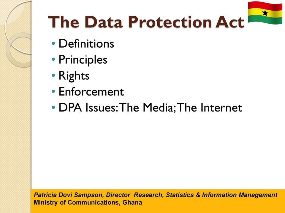 Rights Enforcement DPA