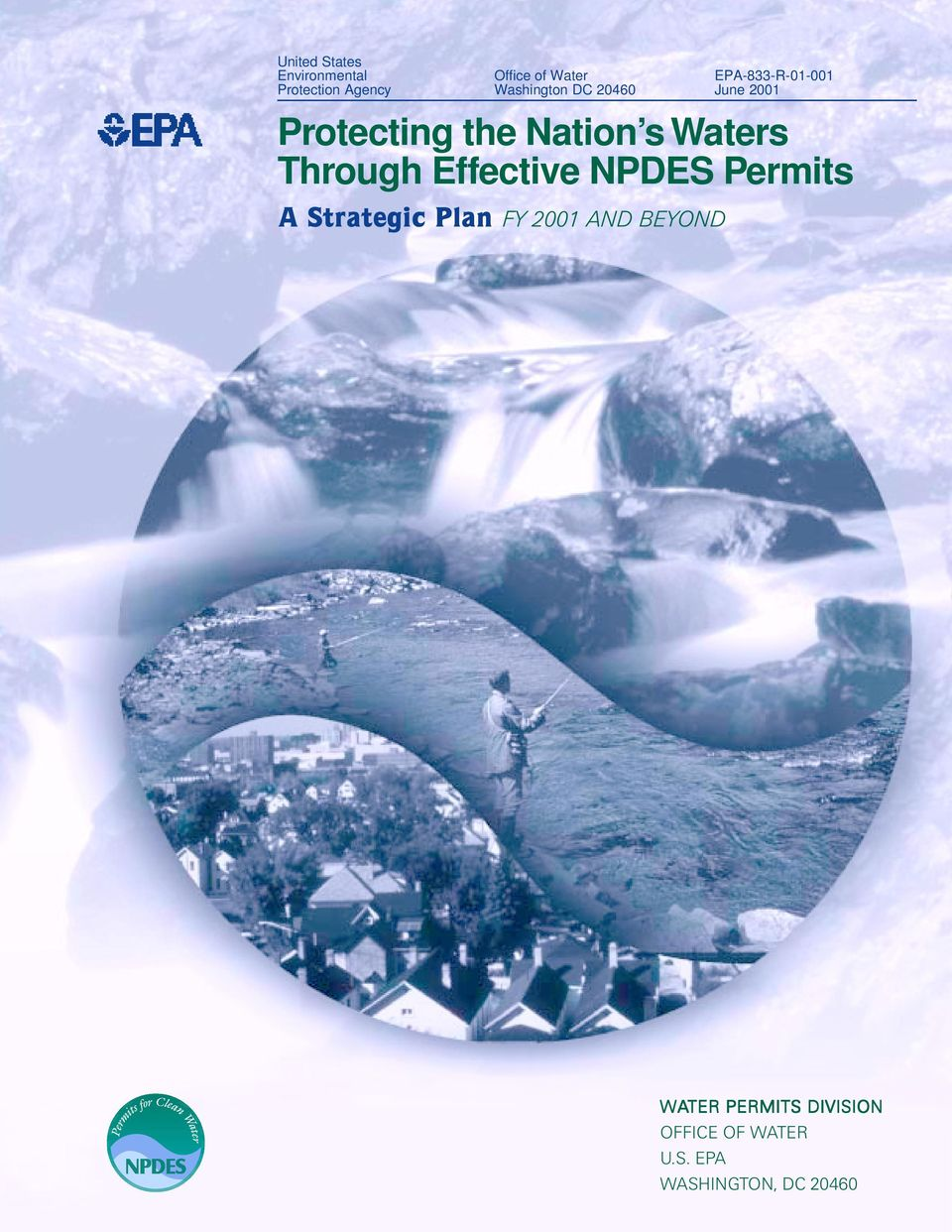 NPDES Permits A Strategic Plan FY 2001 AND BEYOND EPA-833-R-01-001