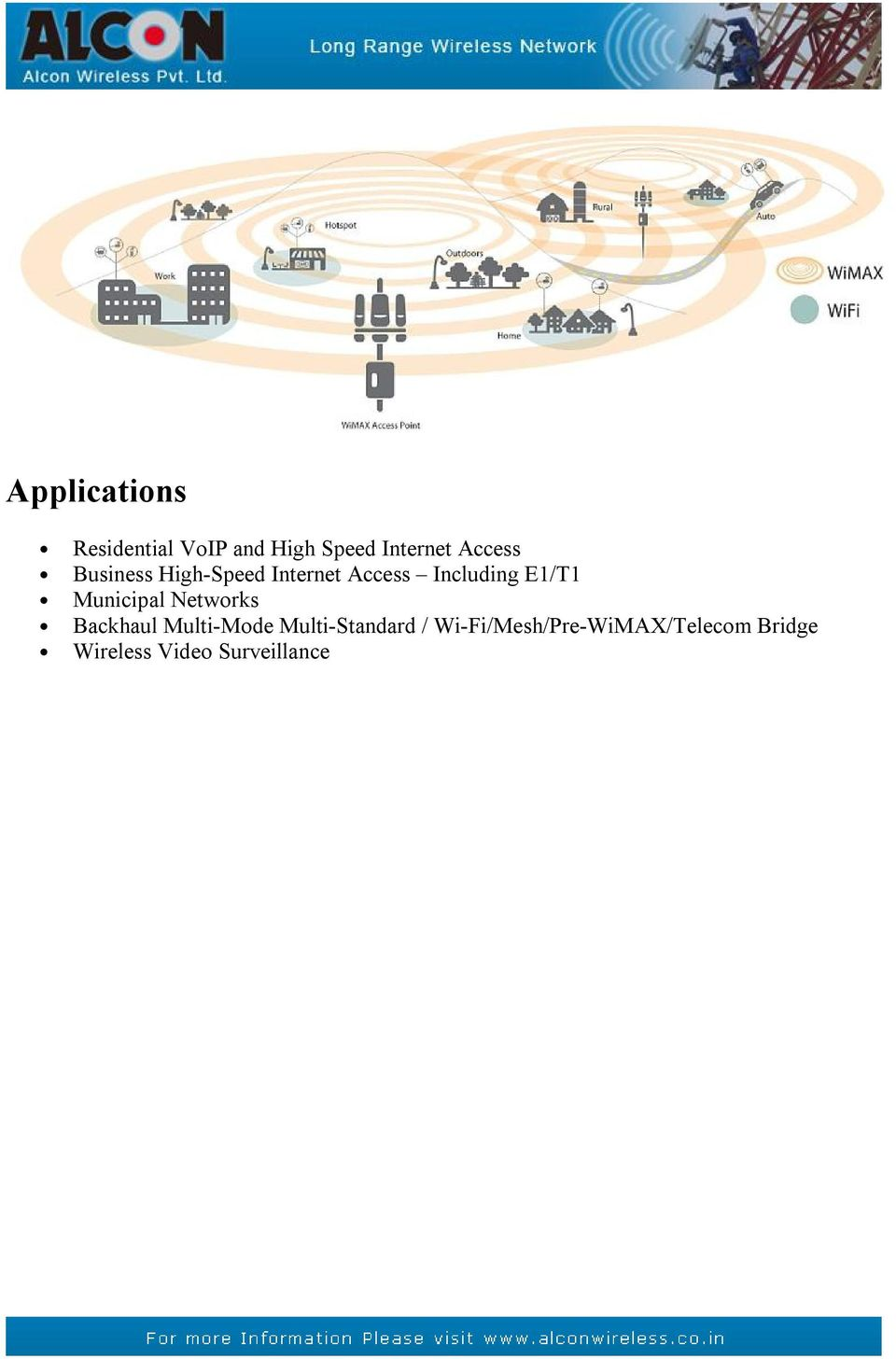 E1/T1 Municipal Networks Backhaul Multi-Mode