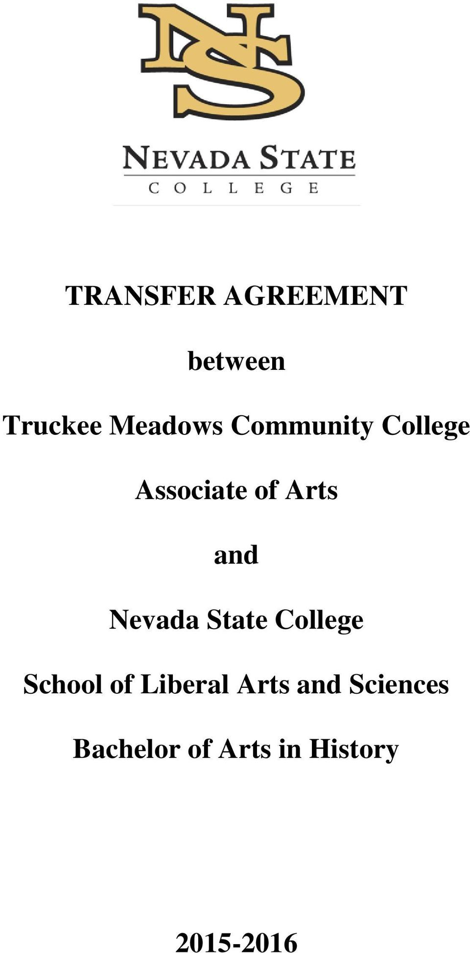 Nevada State College School of Liberal Arts