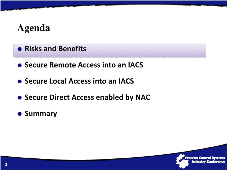 Local Access into an IACS Secure