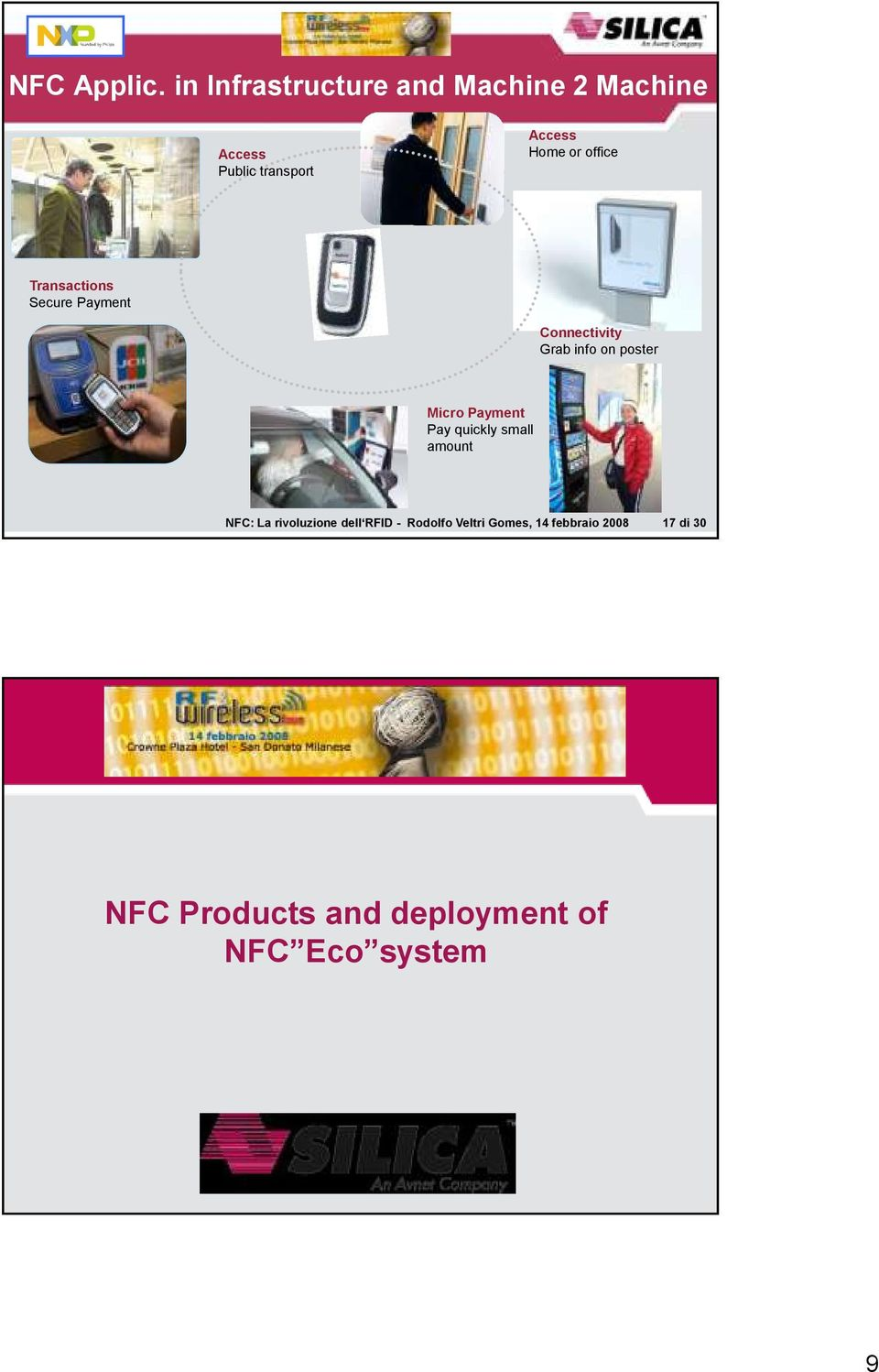 office Transactions Secure Payment Connectivity Grab info on poster Micro Payment