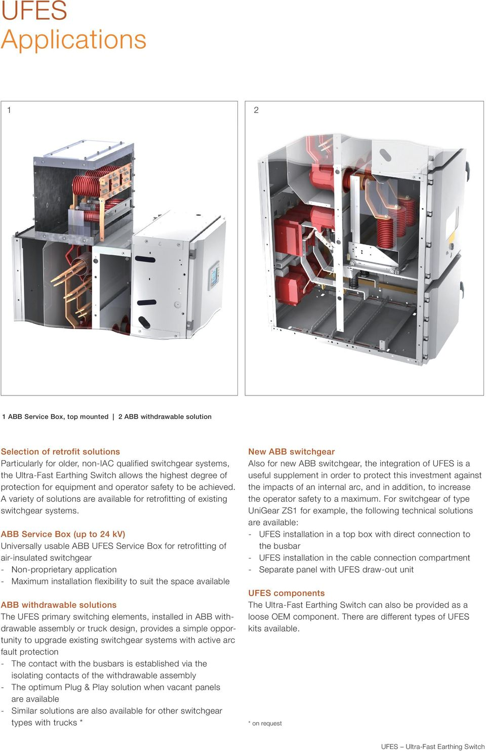 ABB Service Box (up to 4 kv) Universally usable ABB Service Box for retrofitting of air-insulated switchgear Non-proprietary application Maximum installation flexibility to suit the space available