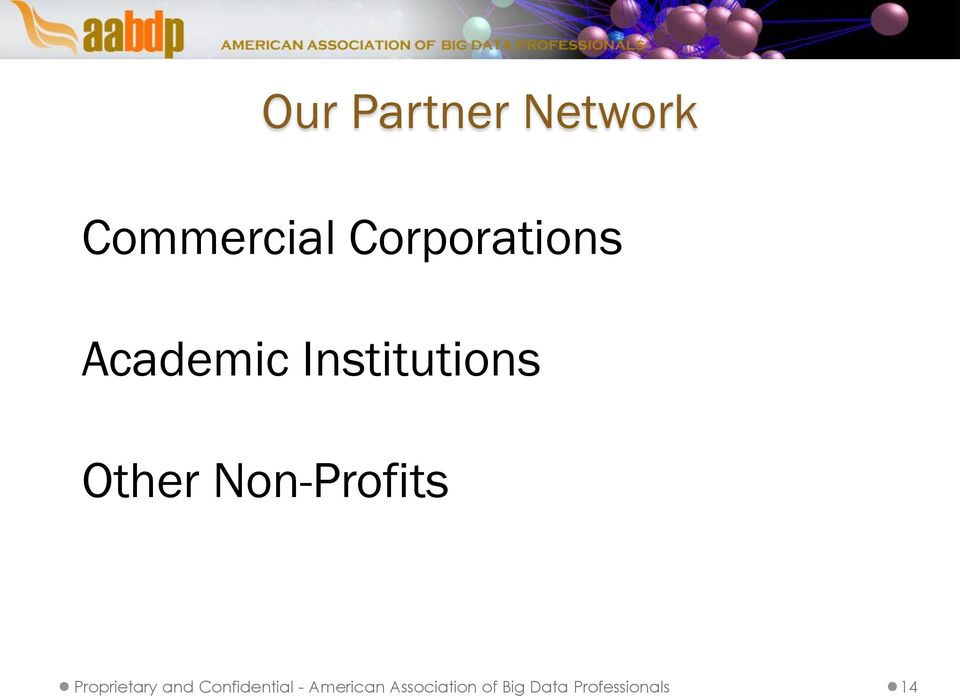 Non-Profits Proprietary and Confidential