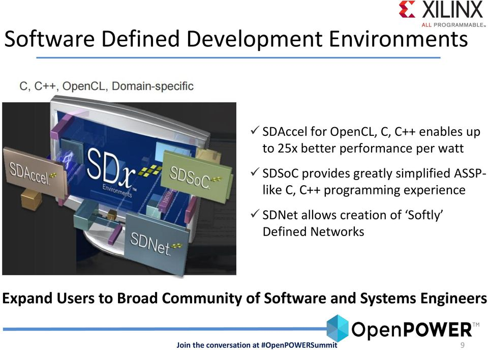 simplified ASSPlike C, C++ programming experience SDNet allows creation of