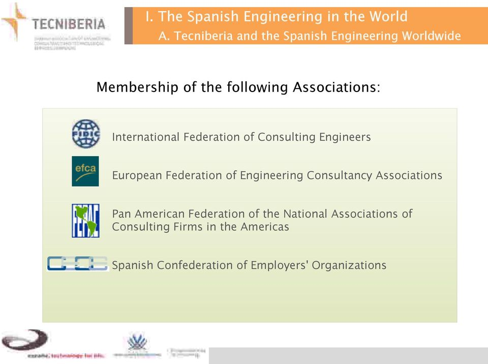 International Federation of Consulting Engineers European Federation of Engineering Consultancy