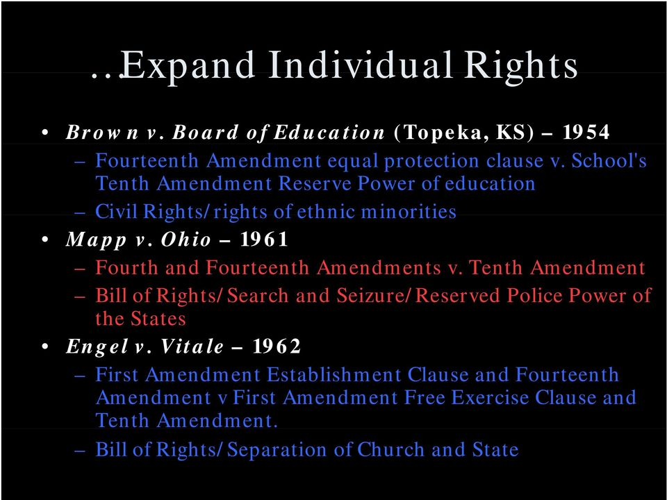 Ohio 1961 Fourth and Fourteenth Amendments v.