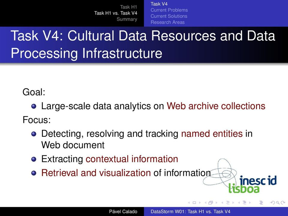 collections Detecting, resolving and tracking named entities in Web