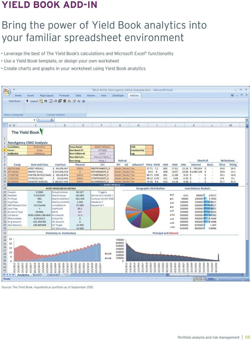 functionality Use a template, or design your own worksheet Create charts and
