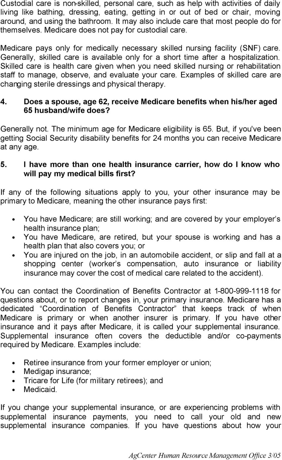 How To Apply For Medicare When Disabled Solution For How To For Generally,  Skilled Care Is Available Only For A Short Time After A Hospitalization