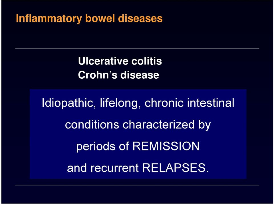 colitis conditions characterized by Ischaemic colitis Diversion colitis