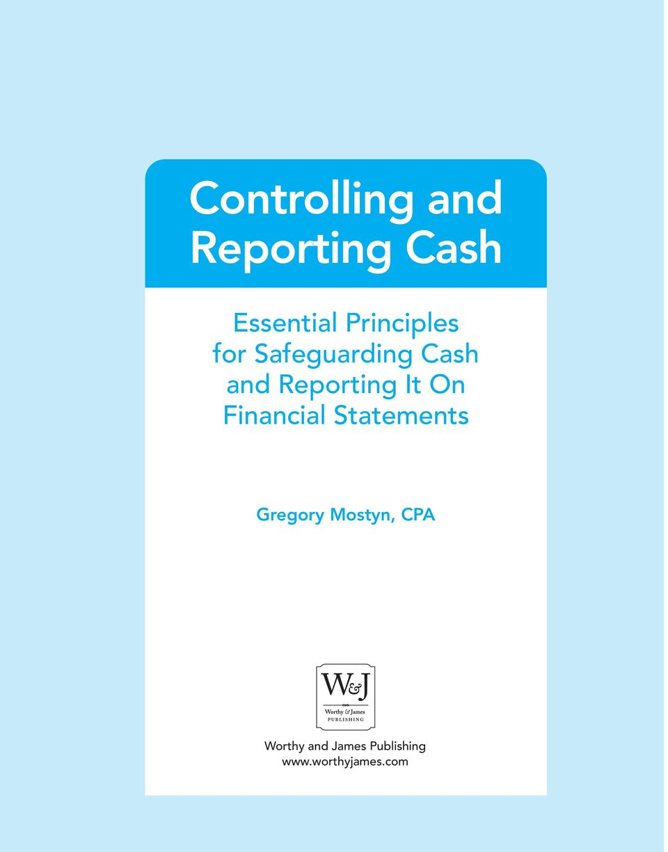 Reporting It On Financial Statements Gregory