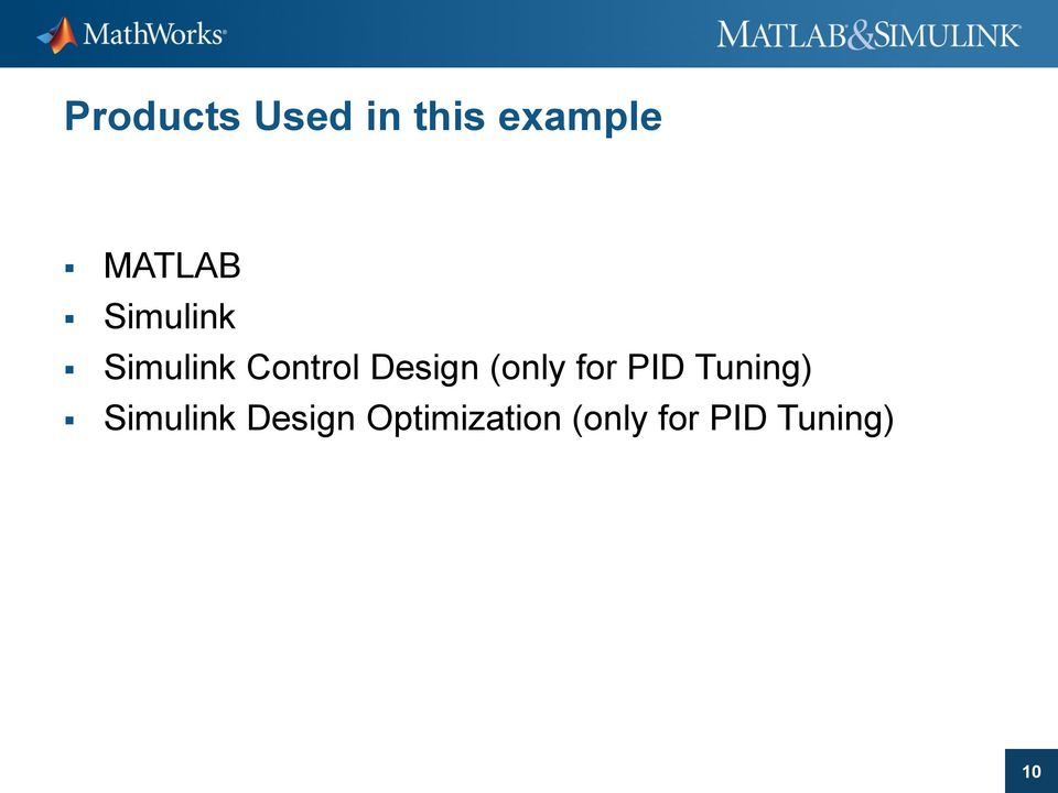 (only for PID Tuning) Simulink
