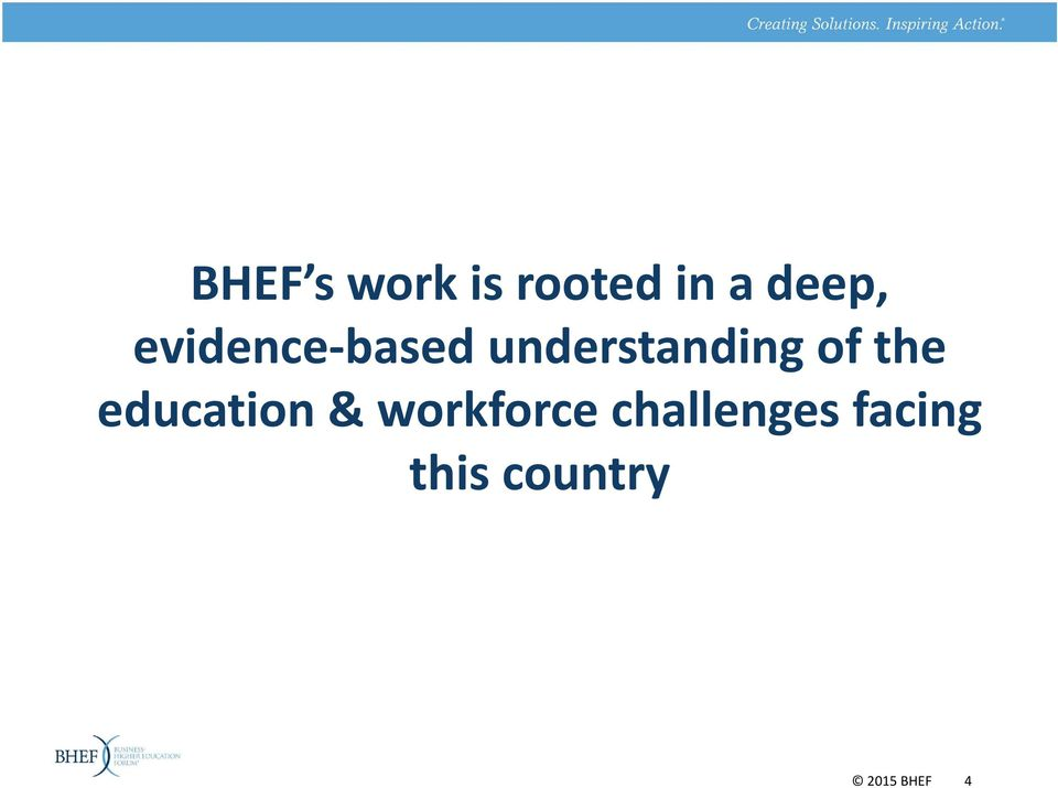 the education & workforce