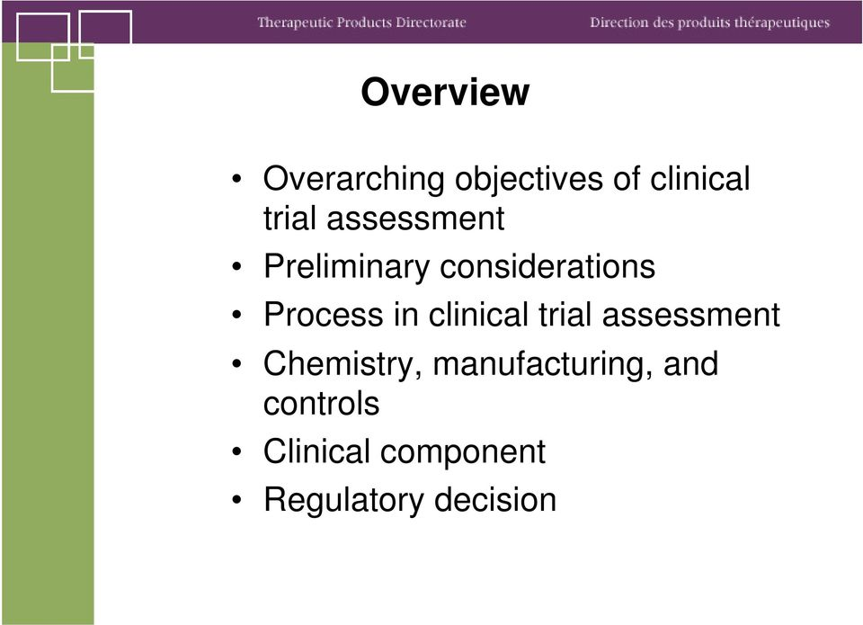 clinical trial assessment Chemistry,