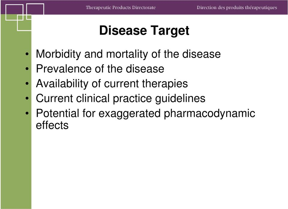 current therapies Current clinical practice