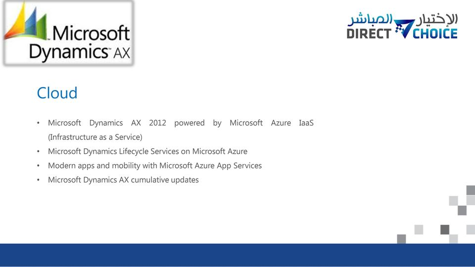 Lifecycle Services on Microsoft Azure Modern apps and mobility