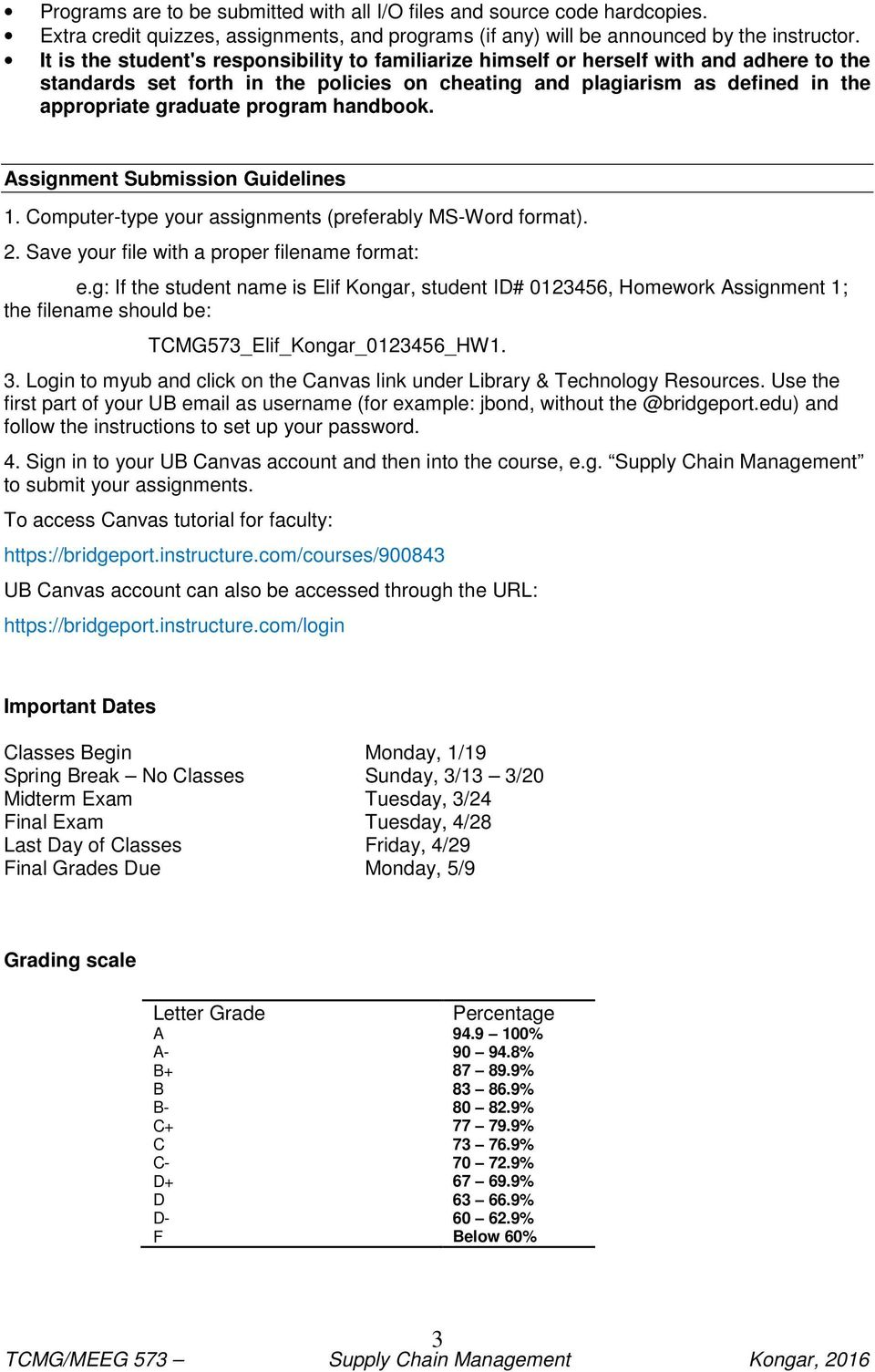 program handbook. Assignment Submission Guidelines 1. Computer-type your assignments (preferably MS-Word format). 2. Save your file with a proper filename format: e.