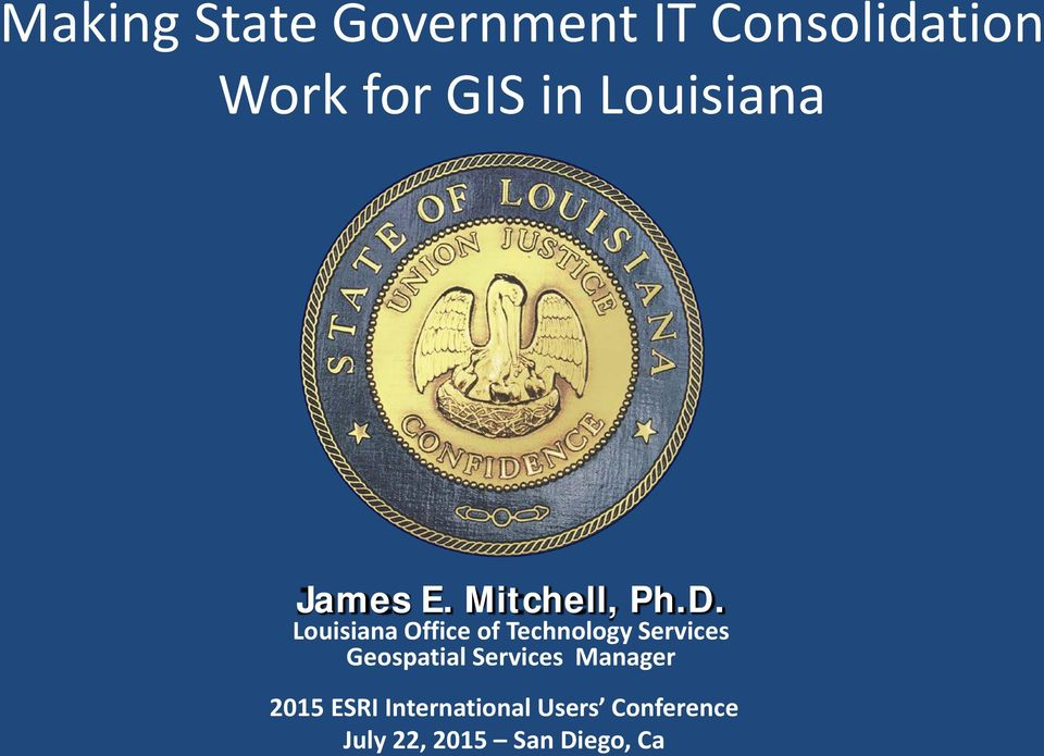 Louisiana Office of Technology Services Geospatial