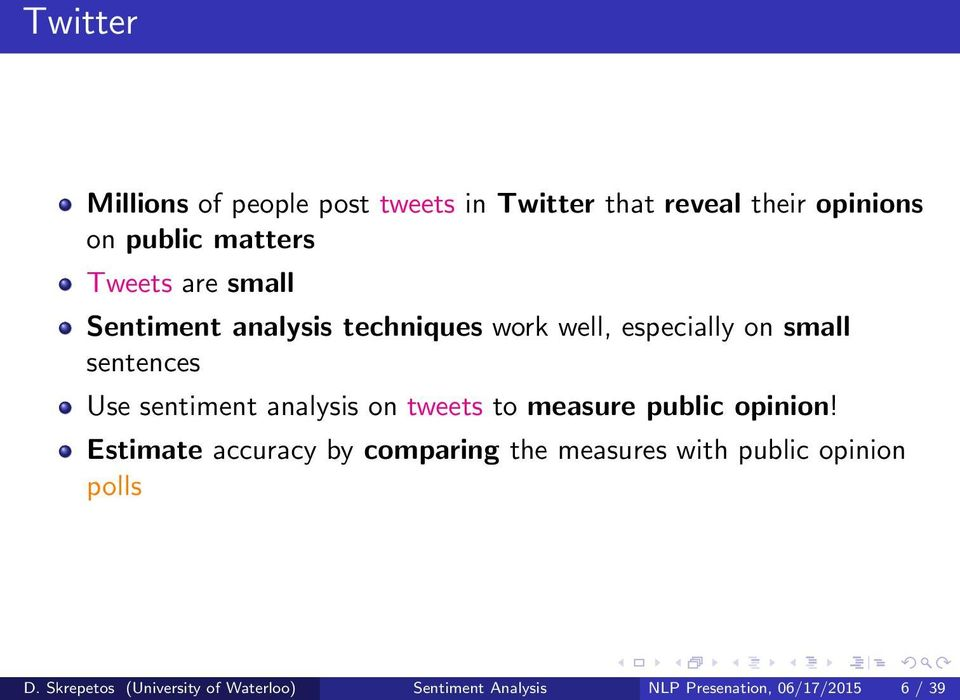 sentiment analysis on tweets to measure public opinion!
