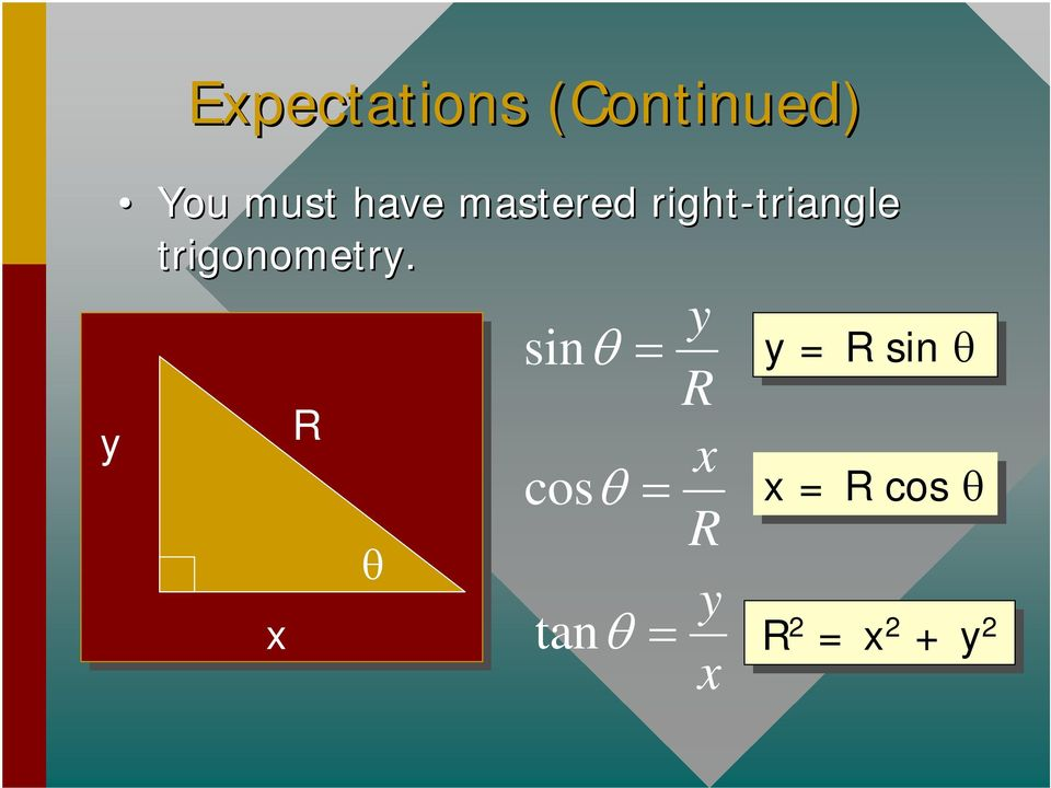 triangle trigonometry.