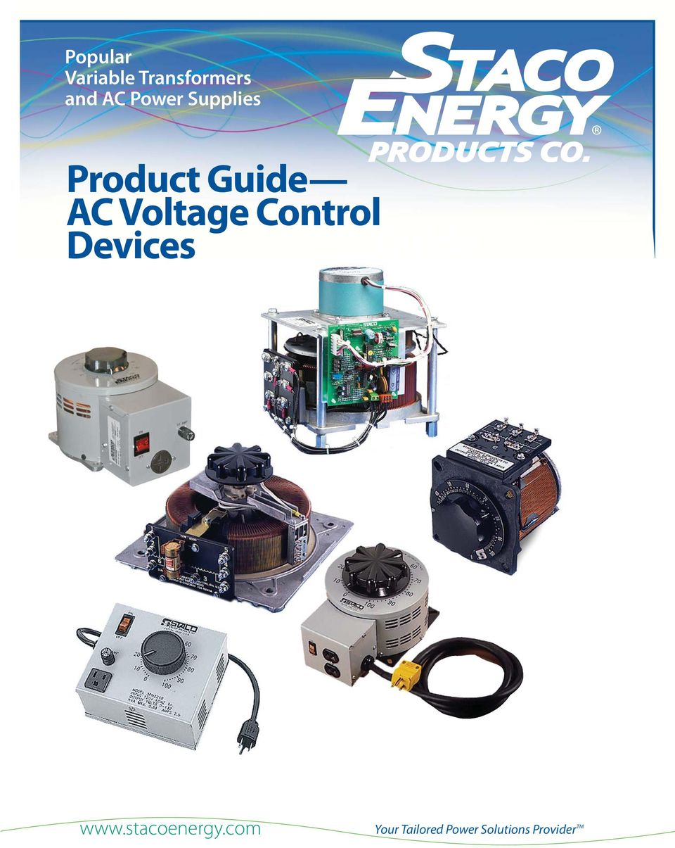 Voltage Control Devices Guide Guide