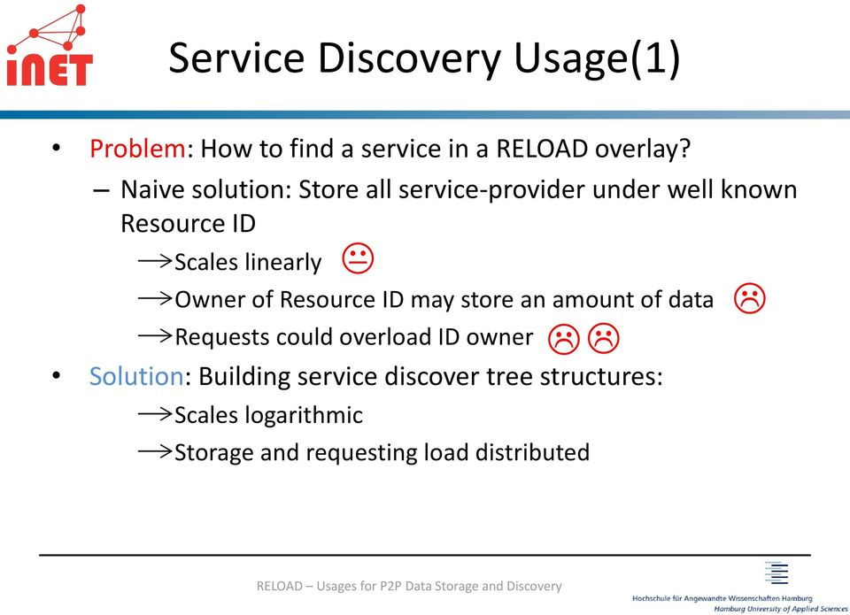 Owner of Resource ID may store an amount of data Requests could overload ID owner