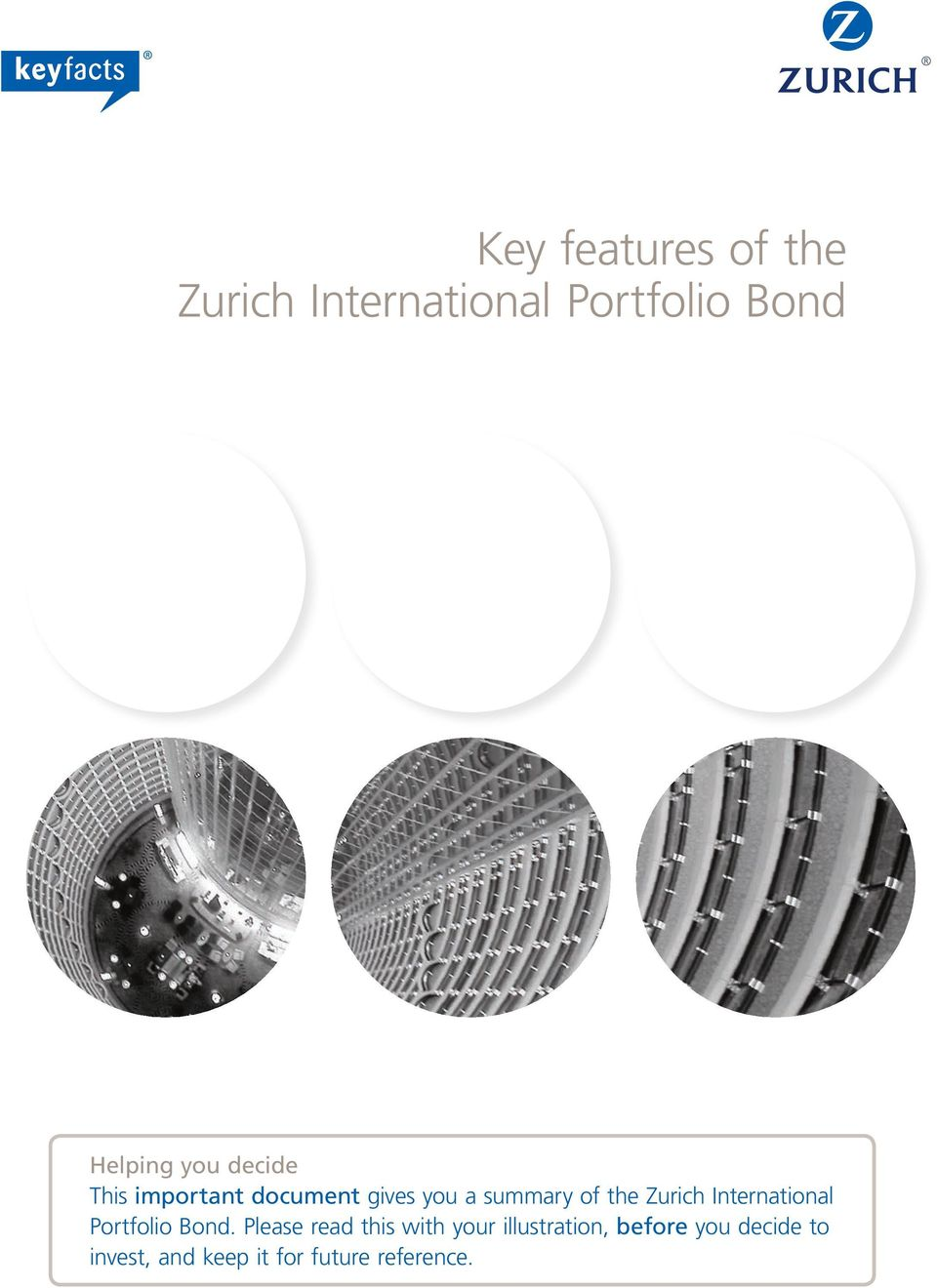 Zurich International Portfolio Bond.