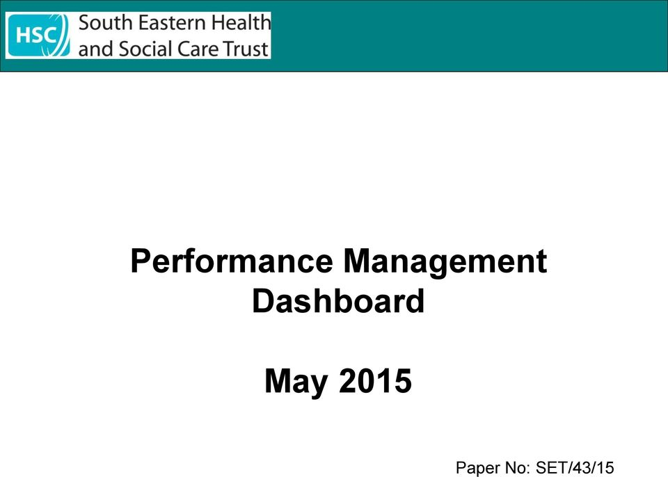 Dashboard May
