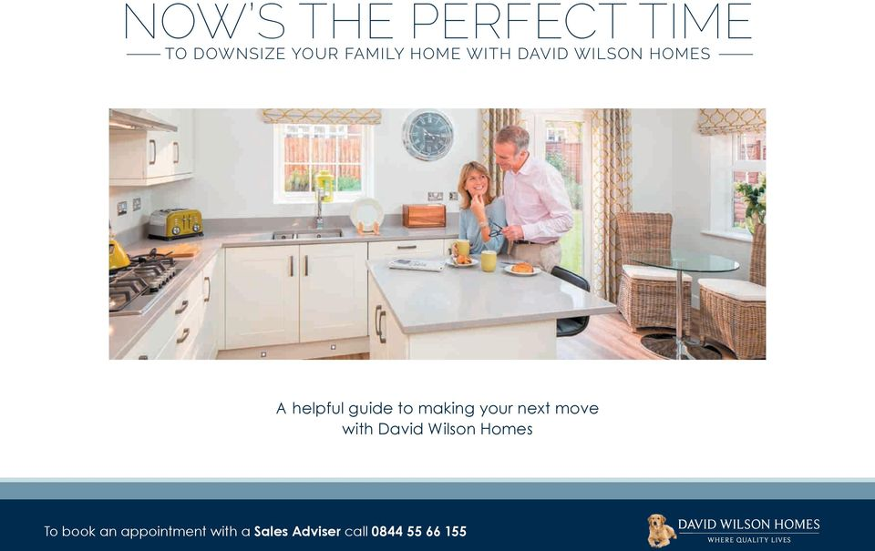 making your next move with David Wilson Homes To